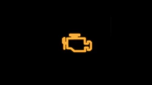 Đèn báo kiểm soát hệ thống khí thải / kiểm soát động cơ
